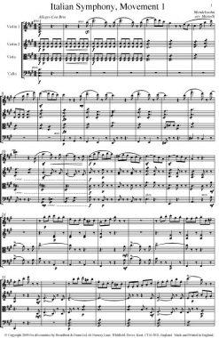 Mendelssohn - Italian Symphony No. 4