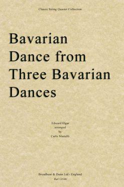 Elgar - Bavarian Dance from Three Bavarian Dances (String Quartet Score)