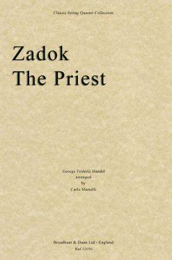 Handel - Zadok The Priest (String Quartet Score)