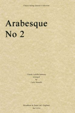 Debussy - Arabesque No. 2 (String Quartet Parts)