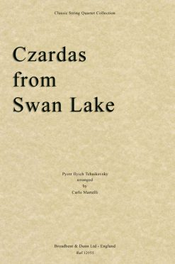 Tchaikovsky - Czardas from Swan Lake (String Quartet Score)