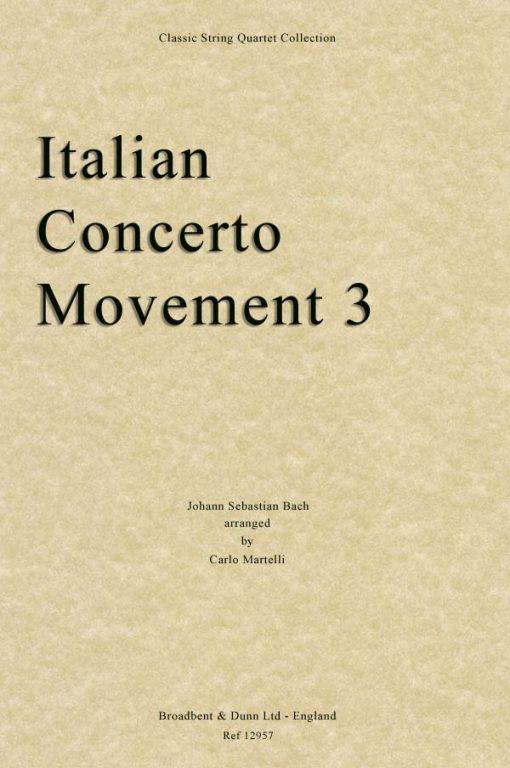 Bach - Italian Concerto