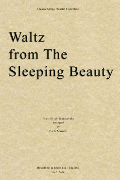 Tchaikovsky - Waltz from The Sleeping Beauty (String Quartet Score)