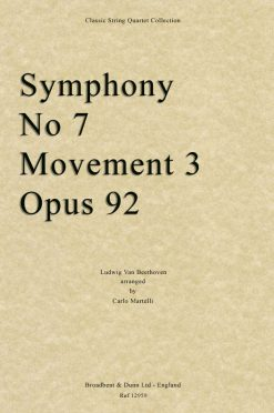 Beethoven - Symphony No. 7 Movement 3
