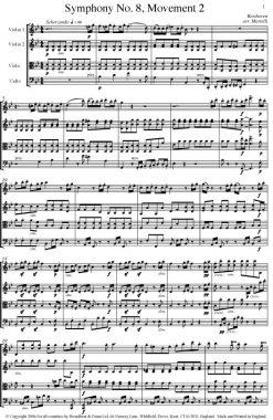 Beethoven - Symphony No. 8 Movement 2