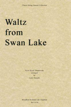 Tchaikovsky - Waltz from Swan Lake (String Quartet Score)