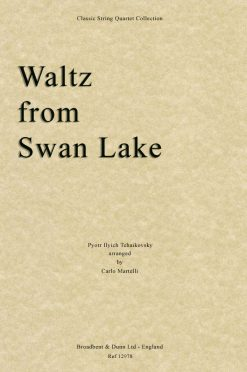 Tchaikovsky - Waltz from Swan Lake (String Quartet Parts)