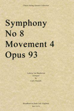 Beethoven - Symphony No. 8 Movement 4
