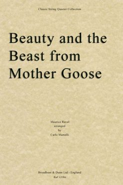 Ravel - Beauty and the Beast from Mother Goose (String Quartet Score)