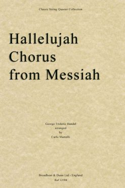 Handel - Hallelujah Chorus from Messiah (String Quartet Score)