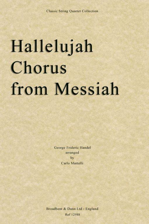 Handel - Hallelujah Chorus from Messiah (String Quartet Score)