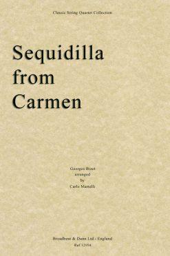 Bizet - Sequidilla from Carmen (String Quartet Score)
