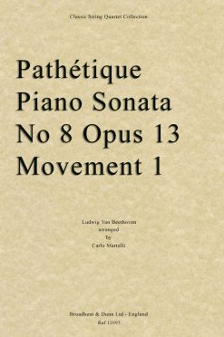 Beethoven - Pathétique Piano Sonata No. 8 Opus 13