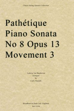Beethoven - Pathétique Piano Sonata No. 8 Opus 13