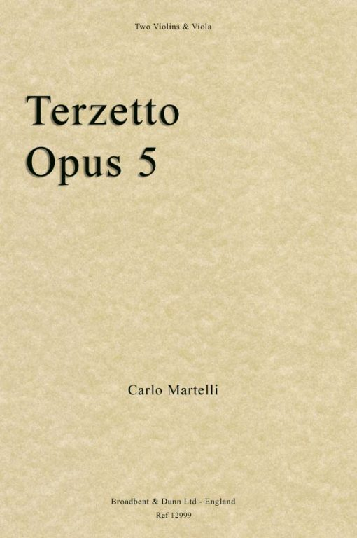 Carlo Martelli - Terzetto