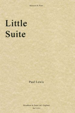 Paul Lewis - Little Suite (Bassoon & Piano)