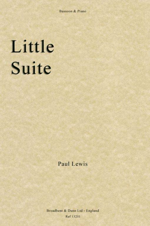 Paul Lewis - Little Suite (Bassoon & Piano)