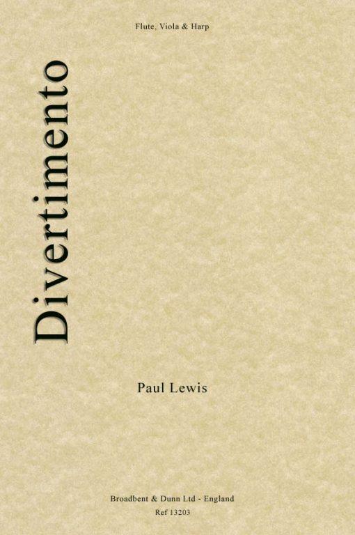 Paul Lewis - Divertimento (Flute