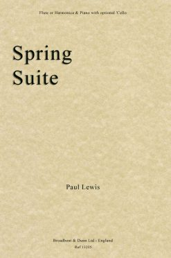Paul Lewis - Spring Suite (Flute or Harmonica & Piano with optional 'Cello)