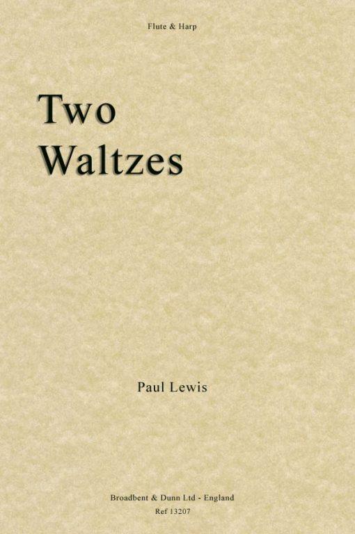 Paul Lewis - Two Waltzes (Flute & Harp)