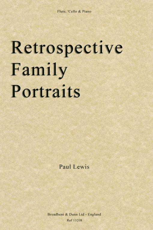 Paul Lewis - Retrospective Family Portraits (Flute