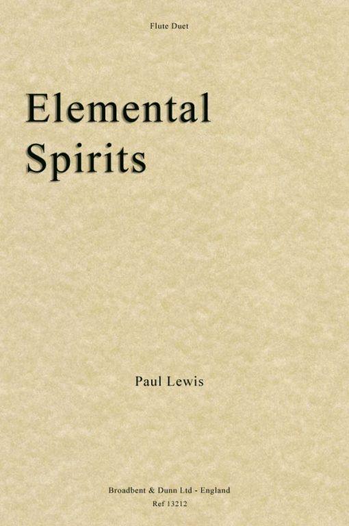 Paul Lewis - Elemental Spirits (Flute Duet)