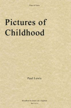 Paul Lewis - Pictures of Childhood (Flute & Piano)