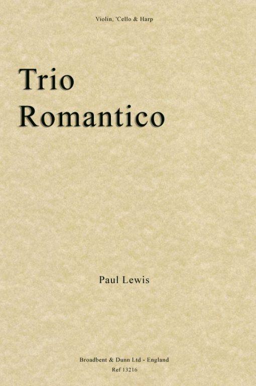Paul Lewis - Trio Romantico (Violin