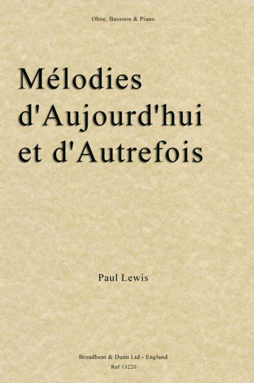 Paul Lewis - Mélodies d'Aujourd'hui et d'Autrefois (Oboe