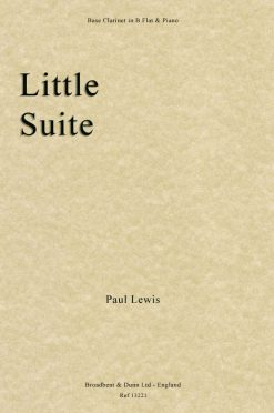Paul Lewis - Little Suite (Bass Clarinet in B Flat & Piano)