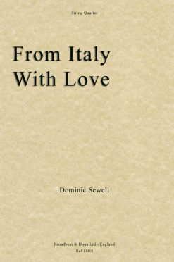 Dominic Sewell - From Italy