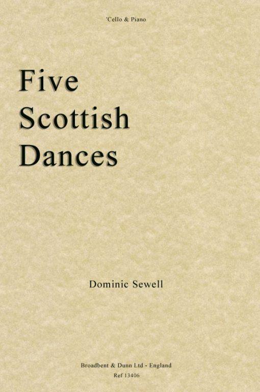 Dominic Sewell - Five Scottish Dances ('Cello & Piano)