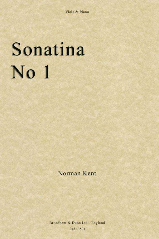 Norman Kent - Sonatina No. 1 (Viola & Piano)