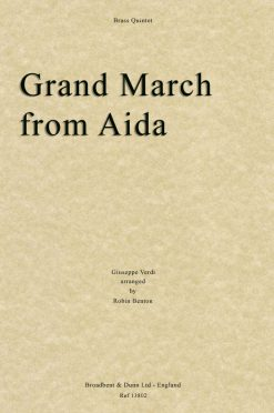 Verdi - Grand March from Aida (Brass Quintet)