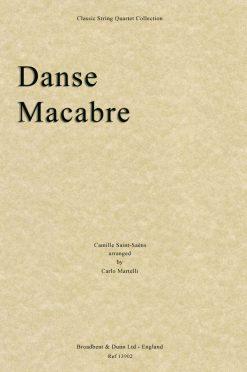 Saint-Saëns - Danse Macabre (String Quartet Score)