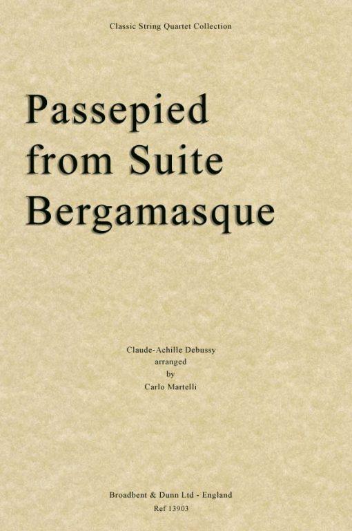 Debussy - Passepied from Suite Bergamasque (String Quartet Parts)