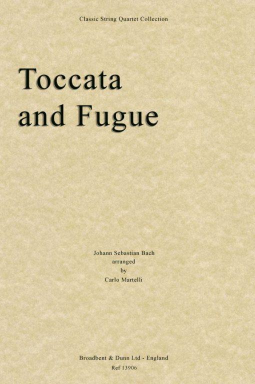 Bach - Toccata and Fugue (String Quartet Parts)