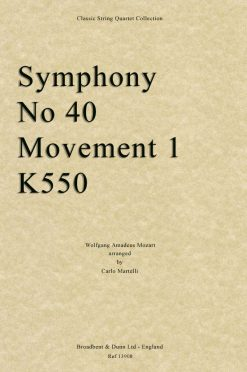 Mozart - Symphony No. 40 Movement 1