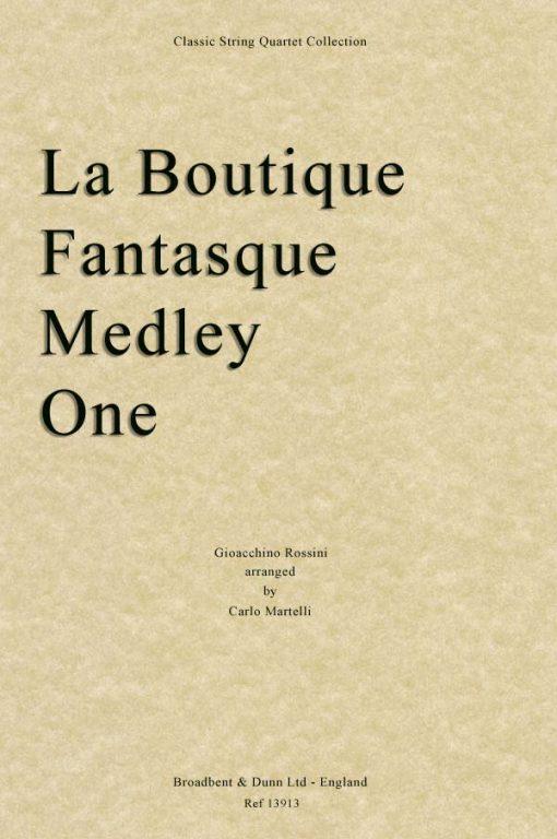 Rossini - La Boutique Fantasque Medley One (String Quartet Parts)