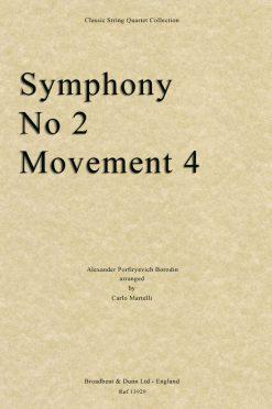 Borodin - Symphony No. 2 Movement 4 (String Quartet Score)