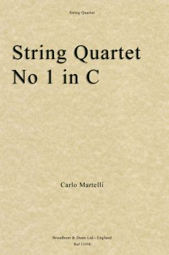 Carlo Martelli - String Quartet No. 1 in C