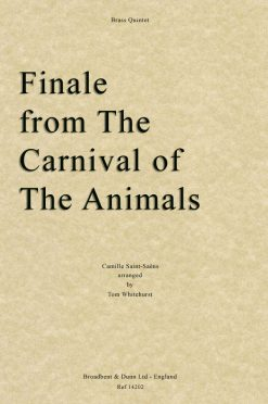 Saint-Saëns - Finale from The Carnival of the Animals (Brass Quintet)