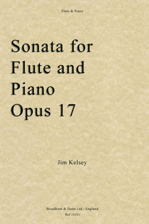 Jim Kelsey - Sonata for Flute and Piano