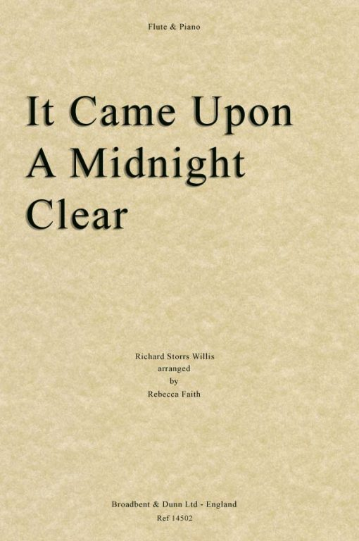 Willis - It Came Upon A Midnight Clear (Flute & Piano)