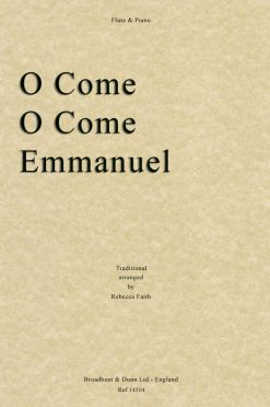 Traditional - O Come O Come Emmanuel (Flute & Piano)