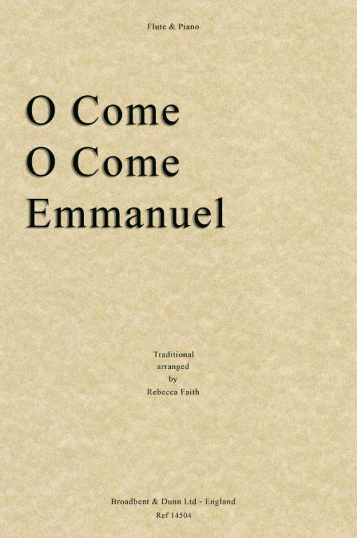 Traditional - O Come O Come Emmanuel (Flute & Piano)