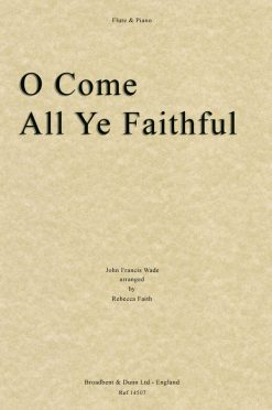Wade - O Come All Ye Faithful (Flute & Piano)