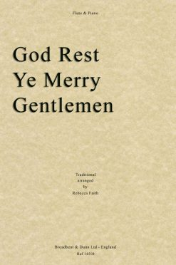 Traditional - God Rest Ye Merry Gentlemen (Flute & Piano)