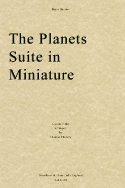 Holst - The Planets Suite in Miniature (Brass Quintet)